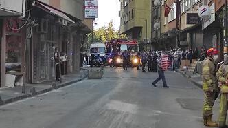 Son dakika: Şişli'de hareketli dakikalar! Çökme tehlikesi olan bina boşaltıldı