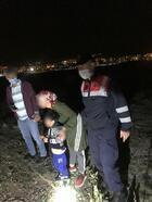 Kaybolan 4 yaşındaki çocuğu jandarma ekipleri buldu