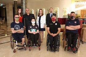 Terma City, Tekerlekli Sandalye Basketbol Süper Ligi takımlarını ağırlıyor