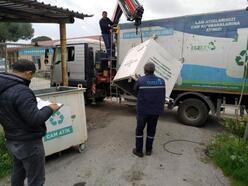 Bergama'da 5 ayda 22 ton atık cam toplandı