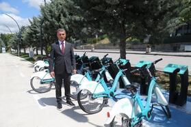 Başkan Şimşek'ten, 'bisiklet' daveti