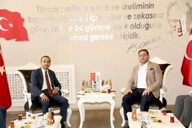MHP'li Özdemir'den STSO'ya ziyaret