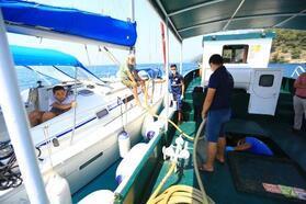 Muğla'nın denizleri Büyükşehirle daha temiz