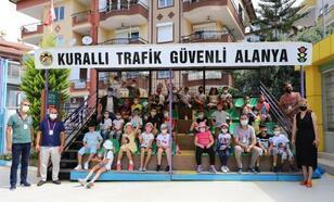 Alanya Belediyesi Trafik Eğitim Parkı eğitimlerine yeniden başladı
