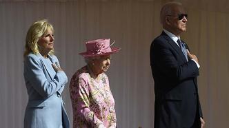 İngiltere Kraliçesi 2. Elizabeth, Windsor Kalesi'nde Biden ve eşiyle görüştü