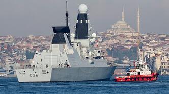 ABD savaş gemisinin ardından İngiliz ve Hollanda gemileri de Karadeniz'de