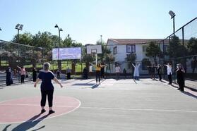 Sosyal mesafeli sabah sporu yeniden başladı