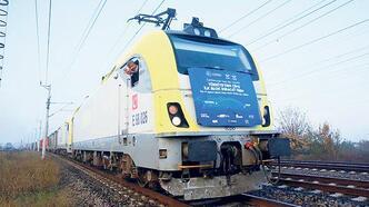 Asya'dan Avrupa'ya blok trenle taşıma