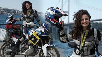 Kadın akademisyen, belgeseli için motosikletiyle Afrika'yı keşfe çıkıyor
