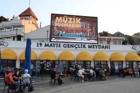 Marmarisli müzisyenlere belediyeden destek