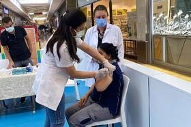 Mersin 1 milyon aşı sınırını aştı