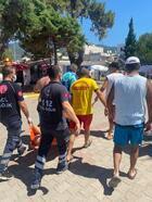 Balıkesir Büyükşehir Belediyesi cankurtaran ekibi, bir can daha kurtardı
