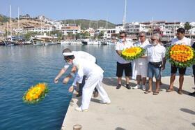 Datça'da Denizcilik Bayramı kutlandı