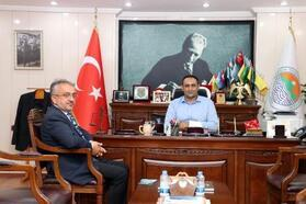 Başkan Yılmaz, TDV'na kurban bağışında bulundu