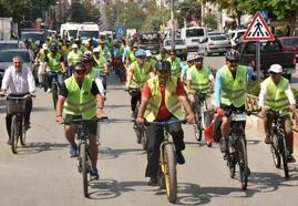 Toroslar Belediyesi'nden 15 Temmuz'da bisiklet yarışları