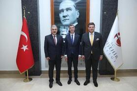 Kosova'nın Ankara Büyükelçisi Dugolli, Vali Ayyıldız'ı ziyaret etti