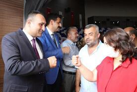 Başkan Yılmaz, belediye personeliyle bayramlaştı