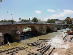 Tarihi Taş Köprü Restorasyon nedeniyle trafiğe kapanıyor