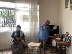 Akdeniz Belediyesi, yaşlı, engelli ve kimsesizleri yalnız bırakmıyor