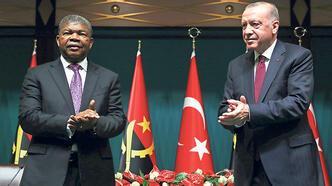 Türkiye ve Angola arasında 10 anlaşma