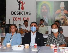 Beşiktaş Cemevi'nde Muharrem Ayı'nın ilk orucu açıldı