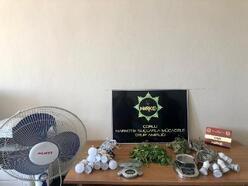 Tekirdağ'da, evinde uyuşturucu madde üreten şüpheli gözaltına alındı