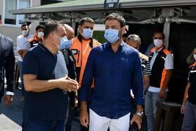 Beşiktaş Belediyesi'nden sel felaketinin yaşandığı bölgeye destek