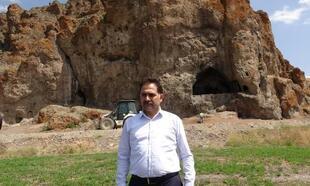 Urartulara ait kaya mezarı turizme kazandırılacak