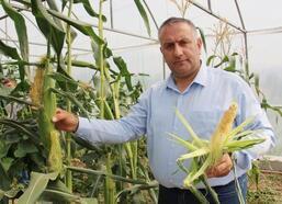 Bal ve organik tarımdan kazandığı para ile öğrencilere yardım ediyor