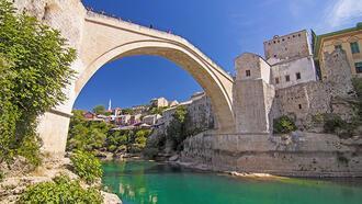 Osmanlı'nın Avrupa'daki şaheseri Mostar Köprüsü