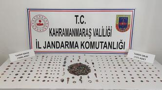 Kahramanmaraş'ta 1143 parça tarihi eser ele geçirildi