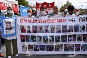 Sivas'ta, Doğu Türkistan için destek eylemi
