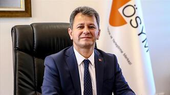 ÖSYM Başkanı Aygün, ALES'e girecek adaylara başarı diledi