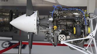 Türkiye'nin yeni İHA motoru ilk kez TEKNOFEST'te sergilendi