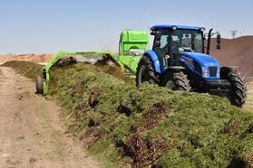 Selçuklu Belediyesi atıklardan 600 ton kompost toprak üretti