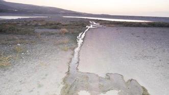 Kanalizasyon suları, baraj göletine akıyor