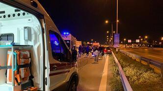 İstanbul'da sabaha karşı zincirleme kaza: 2 yaralı var