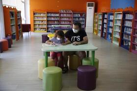 Doğan Hızlan Kütüphanesi yeni yüzüyle hizmette