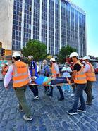 İzmir İtfaiyesi'nden nefes kesen tatbikat