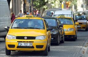 İstanbul'daki taksi dönüşümü mahkemeye taşındı