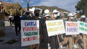 Datça'da, 'Dünya Yürüyüş Günü' etkinliği