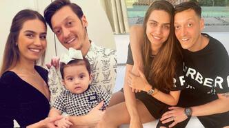 Amine Gülşe'den Mesut Özil'e: İyi ki doğdun diğer yarım