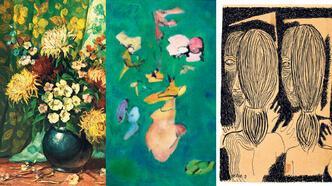 Tarihin en güzel rengi sanatçı kadınlarda
