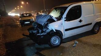 İnegöl'de zincirleme trafik kazası: 4 yaralı
