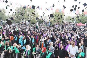 Harran Üniversitesi'nde mezuniyet töreni düzenlendi