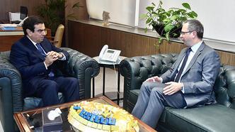 Büyükelçi Ulusoy: 'Türkiye, Lübnan'ın ekonomik krizi aşması için olumlu rolünü sürdürüyor'