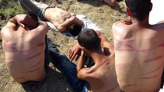 Yarı çıplak halde bulundular! Dövüp Türkiye'ye gönderdiler