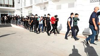 Mersin'de fuhuş operasyonu: 14 gözaltı