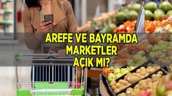 Marketler kaça kadar açık, hafta içi saat kaçta kapanıyor 2021? Arefe gününde (yarın) ve bayramda marketler açık mı (birinci günü), kapalı mı (1., 2. ve 3.günü)?