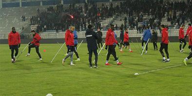 Erzurumspor'da Antalyaspor'a hazırlanıyor